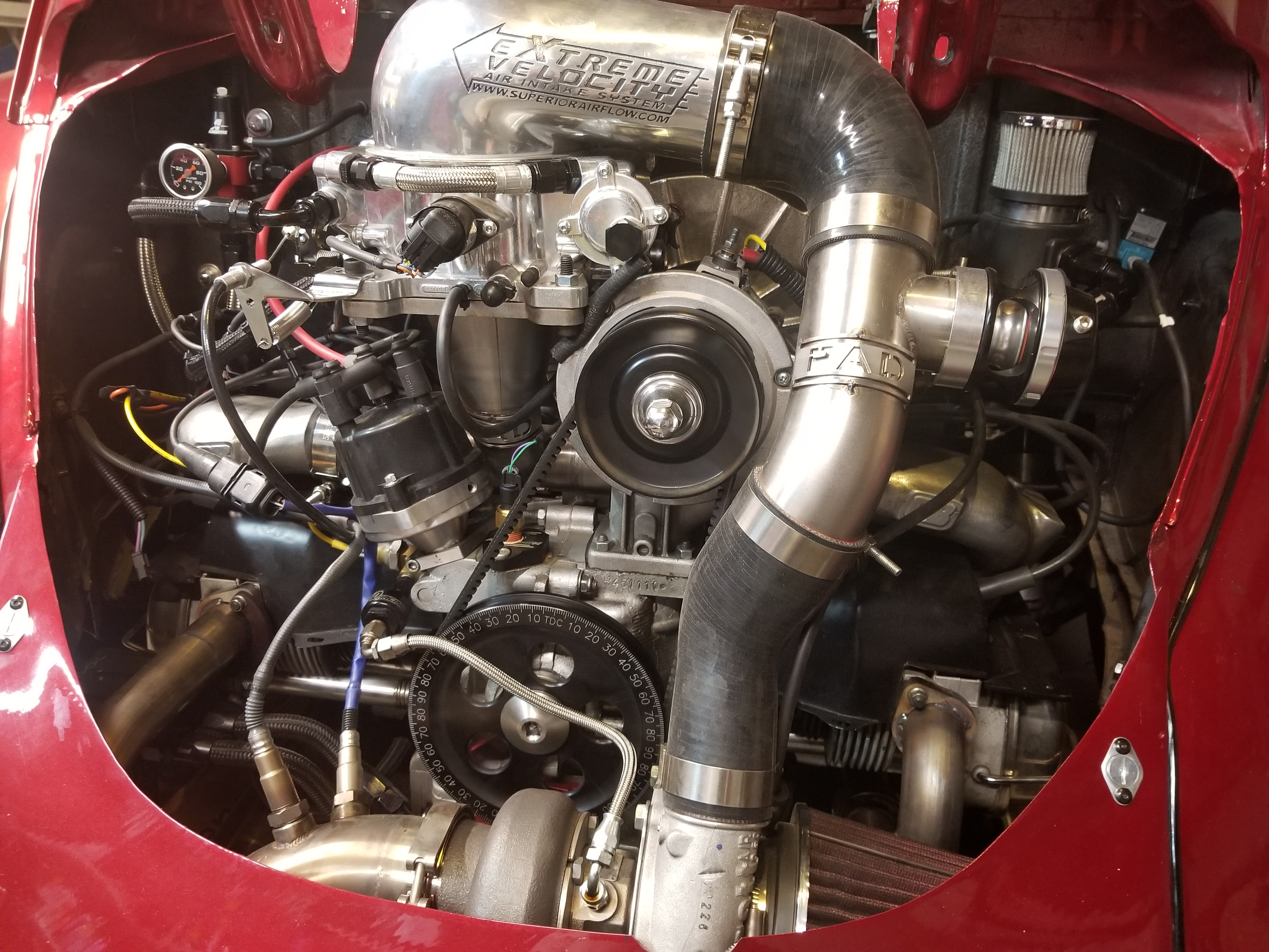 Blow Thru Turbo kits | Rodney Adams Designs - E85 VW Bug Blow