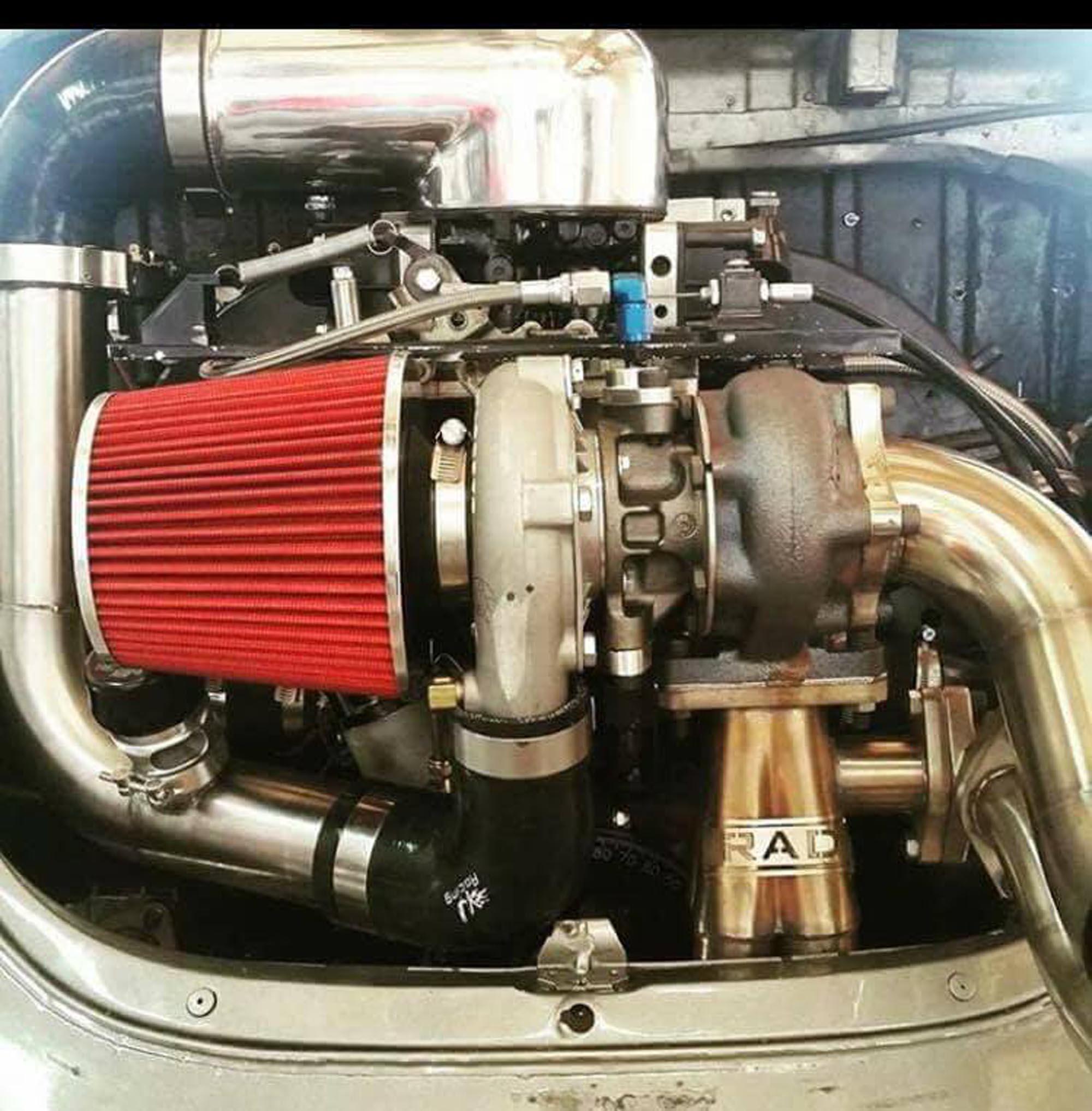 Blow Thru Turbo kits | Rodney Adams Designs - E85 VW Bug